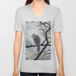 Mondrian's Bird Unisex V-Neck