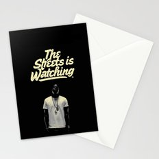 The Streets is Watching Stationery Cards