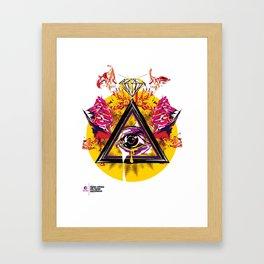 mcnfm_zero três Framed Art Print