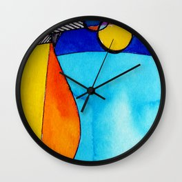 Magical Thinking 7A2 by Kathy Morton Stanion Wall Clock