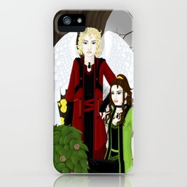Moloch and Duma iPhone Case