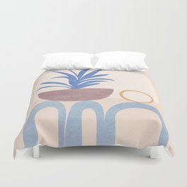 Little Hause Pot Plant Duvet Cover