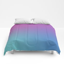 SUPERSTITION FUTURE - Minimal Plain Soft Mood Color Blend Prints Comforters