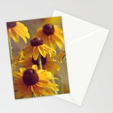 Yellow Hat Coneflowers Summer Botanical Stationery Cards