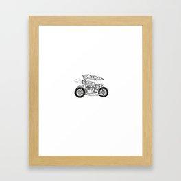 CRN CafeRacer Framed Art Print