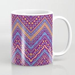 Ornamental Colorful Ethnic Pattern Coffee Mug