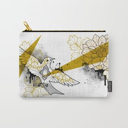 flower and bird Carry-All Pouch