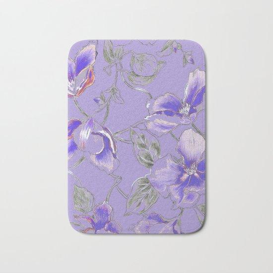 lavender dream Bath Mat