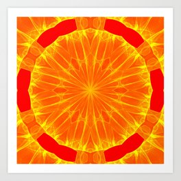 Kaleidoscope 'RK1 SQ' Art Print