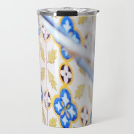 135. Destroy pattern, Cuba Travel Mug