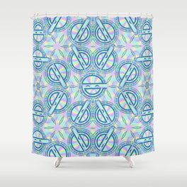 Laughing Man Shower Curtain