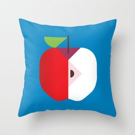 Fruit: Apple Throw Pillow