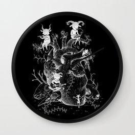 Calaveras & Diablitos Wall Clock