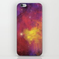 plain iPhone & iPod Skins featuring Nebula (plain) by Scarlet