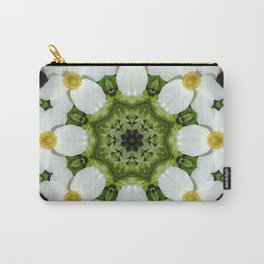 Canada anemone mandala 1 Carry-All Pouch