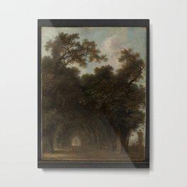 A Shaded Avenue,ca. 1775 Metal Print