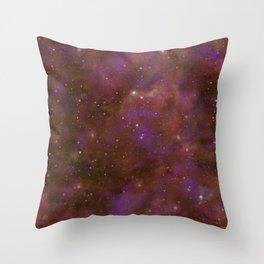 Celestial Nebula Throw Pillow