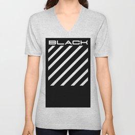 Off Black Unisex V-Neck