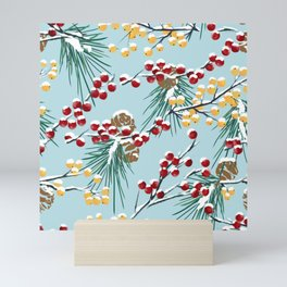 Winterberries Mini Art Print