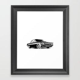 A. M. 3 Framed Art Print