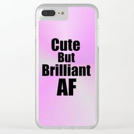 Cute but Brilliant Clear iPhone Case