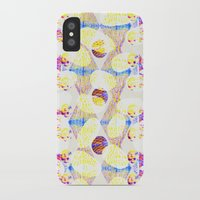 scales iPhone & iPod Cases featuring Scales by Rachel Clore