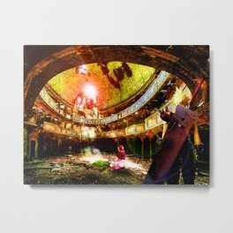 The Flower Girl - Final Fantasy VII Metal Print