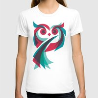 owl T-shirts featuring Owl by Jay Fleck