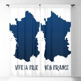 Vive la Fance Blackout Curtain