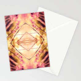 PINK SPANGLES no9-R1 Stationery Cards