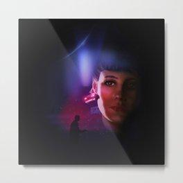 Rachael Blade Runner Poster Metal Print