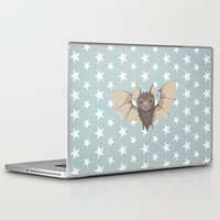 bat Laptop & iPad Skins featuring Bat by Mr and Mrs Quirynen