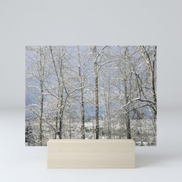 Winter Trees Mini Art Print