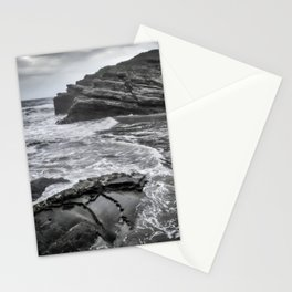Dramatic coastline Stationery Cards