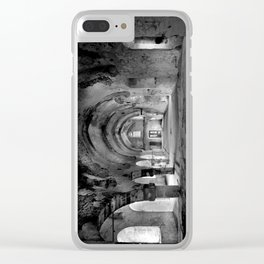 A derelict churh in Northern Cyprus Clear iPhone Case