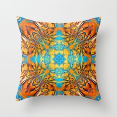 Mandala #4 Throw Pillow