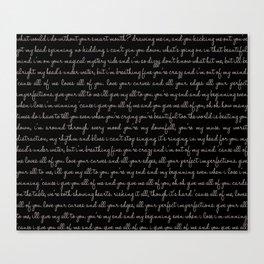 Tp Canvas Print