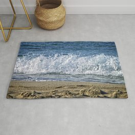 Frothy Surf Rug