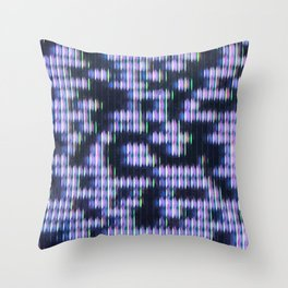 Painted Attenuation 1.3.1 Throw Pillow