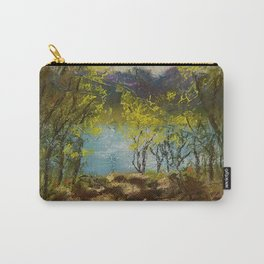 Chickies Rock Overlook Soft Pastel Painting Carry-All Pouch