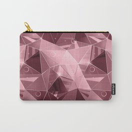 Abstract polygonal pattern.3 Carry-All Pouch