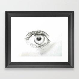 An eye for an eye Framed Art Print