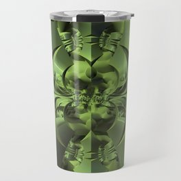 Cool Green of Summer Travel Mug