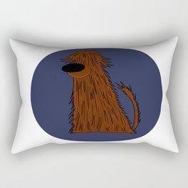 Bearded Collie Dog Doggie Puppy gift present Rectangular Pillow