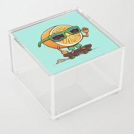 The Orange Skater Acrylic Box