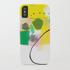 In the Morning iPhone X Slim Case