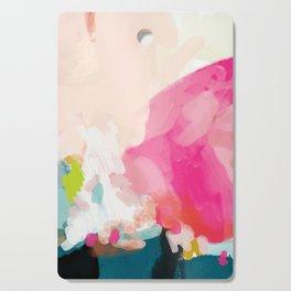 pink sky Cutting Board