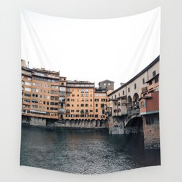 italian Architecture in Florence Wall Tapestry