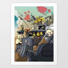 Road Warriors Art Print