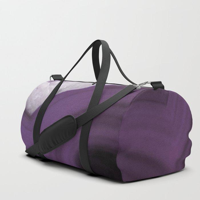 Purple Agate Slice Duffle Bag